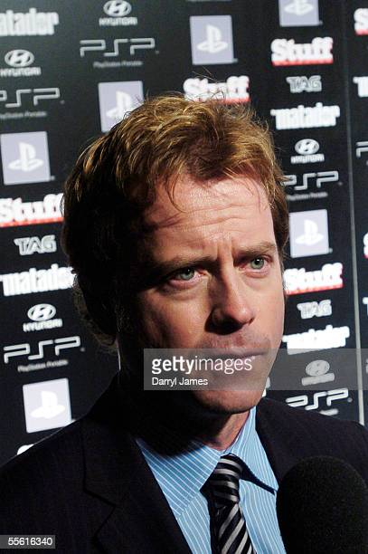 "Actor Greg Kinnear attends the afterparty for the film ""The Matador"" during the 30th Annual Toronto International Film Festival September 15, 2005 in..."