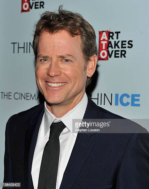 "Actor Greg Kinnear attends The Cinema Society & Grey Goose screening of ""Thin Ice"" at the Tribeca Grand Hotel on February 6, 2012 in New York City."