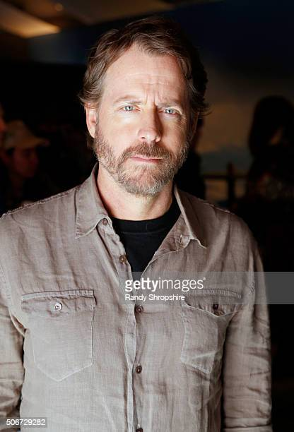 Actor Greg Kinnear attends the Getty Images Portrait Studio Lounge hosted by Eddie Bauer during the 2016 Sundance Film Festival at Village at The...