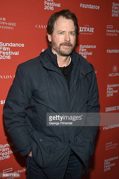Actor Greg Kinnear attends the 'Little Men' Premiere during the 2016 Sundance Film Festival at Eccles Center Theatre on January 25 2016 in Park City...
