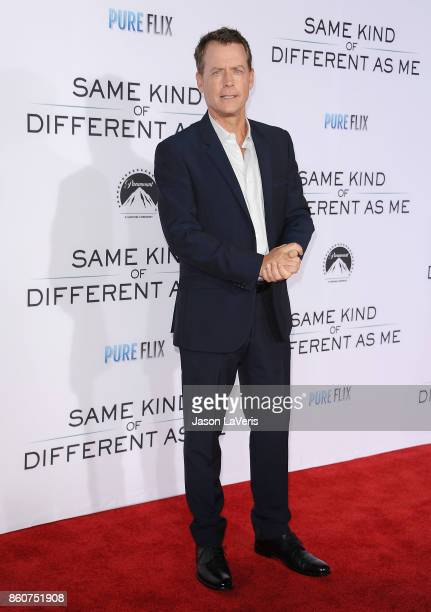 """Actor Greg Kinnear attends the premiere of """"Same Kind of Different as Me"""" at Westwood Village Theatre on October 12, 2017 in Westwood, California."""