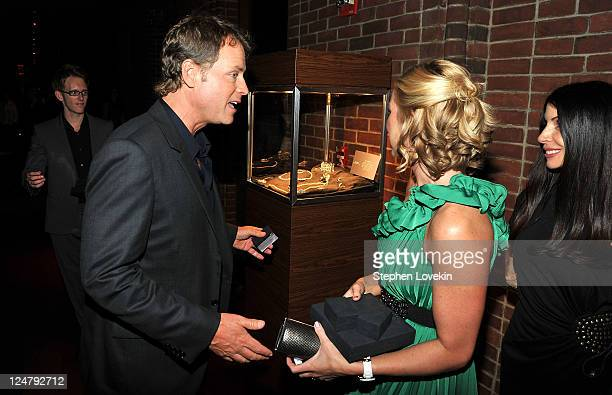 "Actor Greg Kinnear attends the premiere of The Weinstein Company's ""I Don't Know How She Does It"" after party sponsored by QVC & Palladium Jewelry at..."