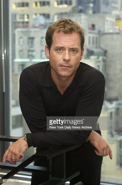 Actor Greg Kinnear in the offices of Sony Pictures Entertainment on Madison Ave He stars in the upcoming movie Auto Focus