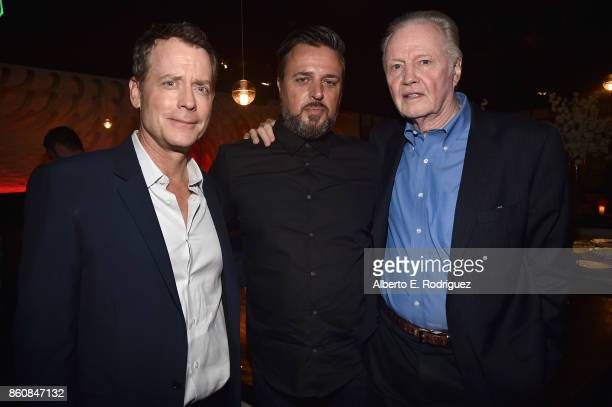 Actor Greg Kinnear Michael Carney and actor Jon Voight attend the after party for the premiere of Paramount Pictures And Pure Flix Entertainment's...