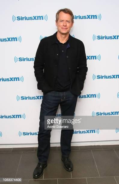 Actor Greg Kinnear visits the SiriusXM studios on October 25 2018 in New York City