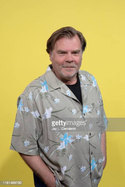 Actor Greg Lawson of 'Wynonna Earp' is photographed for Los Angeles Times at ComicCon International on July 20 2019 in San Diego California PUBLISHED...