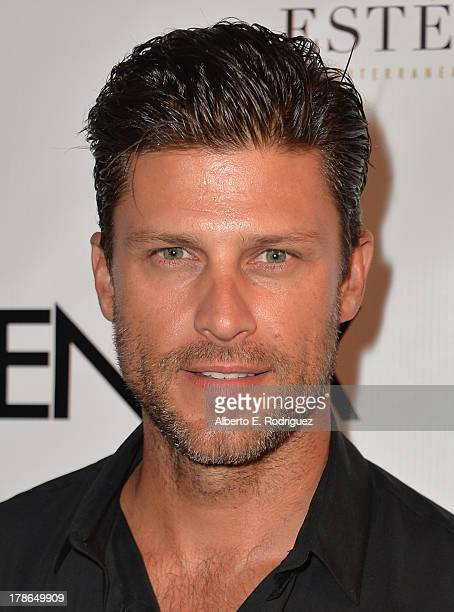 Actor Greg Vaughan arrives to Genlux Magazine's Issue Release party featuring Erika Christensen at The Sofitel Hotel on August 29 2013 in Los Angeles...