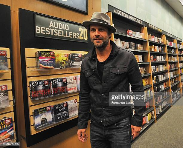 Actor Greg Vaughan arrives to the Days Of Our Lives book signing at the Oak Park Mall Barnes And Noble on October 30 2015 in Overland Park Kansas