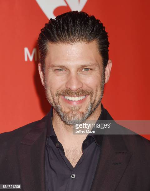 Actor Greg Vaughan attends MusiCares Person of the Year honoring Tom Petty at the Los Angeles Convention Center on February 10 2017 in Los Angeles...