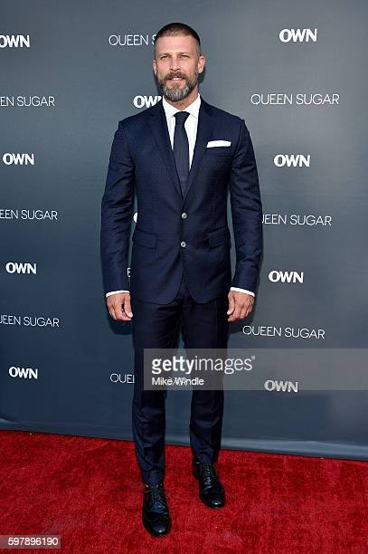 "Actor Greg Vaughan attends OWN Oprah Winfrey Network's ""Queen Sugar"" premiere at the Warner Bros Studio Lot Steven J Ross Theater on August 29 2016..."