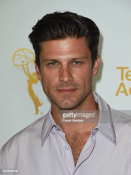 Actor Greg Vaughan attends Television Academy's Daytime Programming Peer Group's 41st Annual Daytime Emmy Nominees Celebration at The London West...