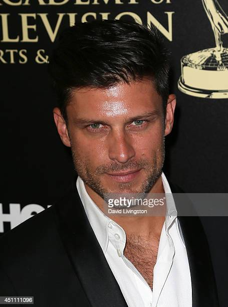 Actor Greg Vaughan attends the 41st Annual Daytime Emmy Awards at The Beverly Hilton Hotel on June 22 2014 in Beverly Hills California