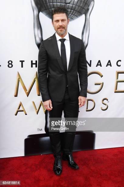 Actor Greg Vaughan attends the 48th NAACP Image Awards at Pasadena Civic Auditorium on February 11 2017 in Pasadena California