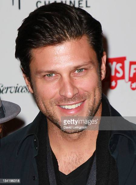 Actor Greg Vaughan attends the 80th anniversary Hollywood Christmas Parade benefiting Marine Toys for Tots on November 27 2011 in Hollywood California