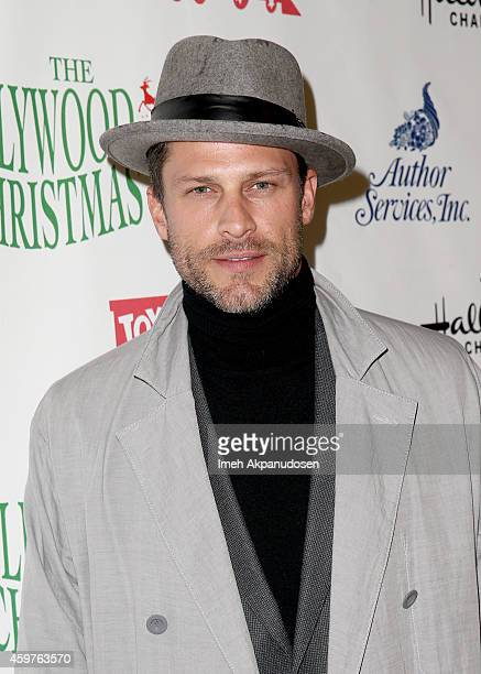 Actor Greg Vaughan attends the 83rd Annual Hollywood Christmas Parade with musical performances by Grand Marshal Stevie Wonder and legendary...