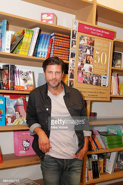 Actor Greg Vaughan attends the Days Of Our Lives Book Signing at Changing Hands Book Store on October 26 2015 in Tempe Arizona