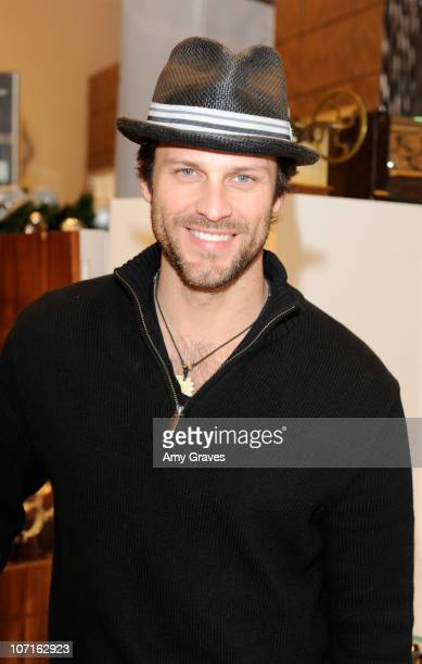 Actor Greg Vaughan attends the Frederique Constant Launch Event at Westime Rodeo on November 26 2010 in Beverly Hills California