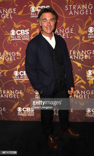 Actor Greg Wise attends the premiere of CBS All Access' 'Strange Angel' at Avalon on June 4 2018 in Hollywood California