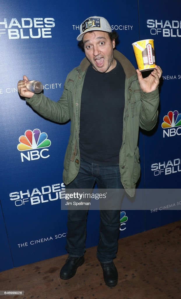 Actor Gregg Bello attends the season 2 premiere of 'Shades Of Blue' hosted by NBC and The Cinema Society at The Roxy on March 1, 2017 in New York City.