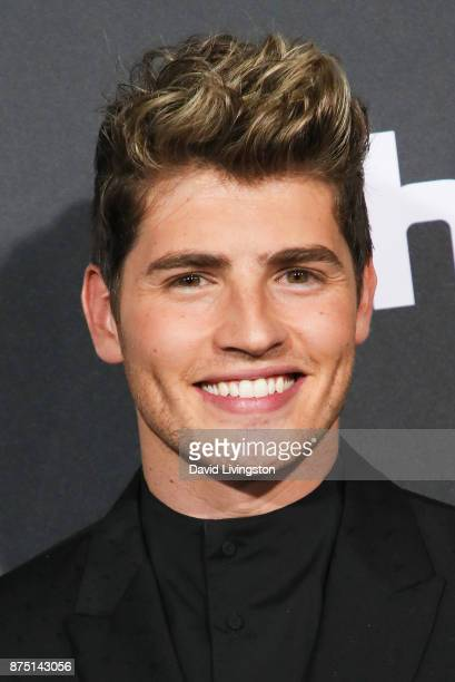 Actor Gregg Sulkin arrives at the premiere of Hulu's 'Marvel's Runaways' at the Regency Bruin Theatre on November 16 2017 in Los Angeles California