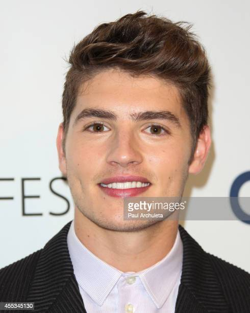 Actor Gregg Sulkin attends the 2014 PaleyFest Fall TV preview for MTV's 'Faking It' at The Paley Center for Media on September 12 2014 in Beverly...
