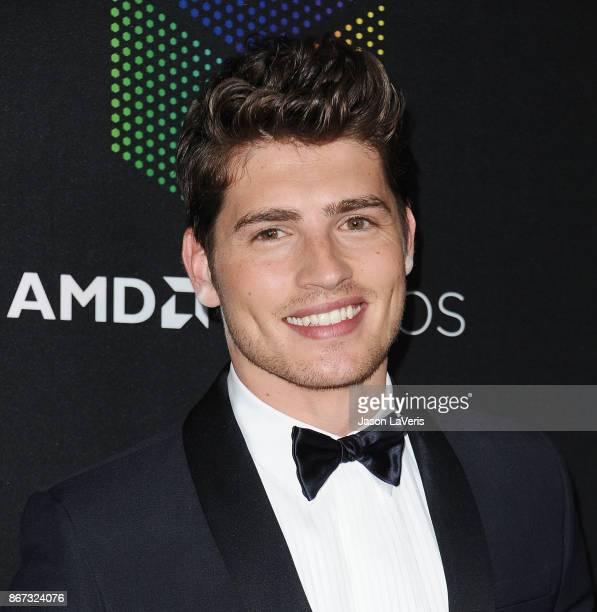 Actor Gregg Sulkin attends the 2017 AMD British Academy Britannia Awards at The Beverly Hilton Hotel on October 27 2017 in Beverly Hills California