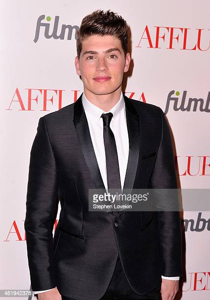 Actor Gregg Sulkin attends the Affluenza premiere at SVA Theater on July 9 2014 in New York City