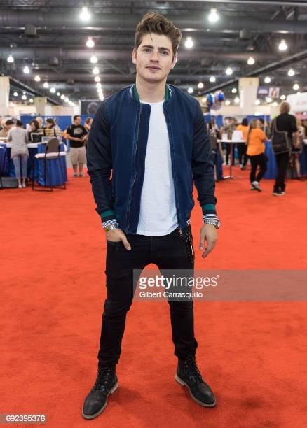 Actor Gregg Sulkin attends Wizard World Comic Con Philadelphia 2017 Day 4 at Pennsylvania Convention Center on June 4 2017 in Philadelphia...