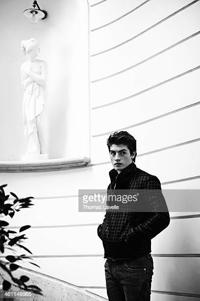 Actor Gregg Sulkin is photographed for Self Assignment during the 8th Rome Film Festival on November 9 2013 in Rome Italy