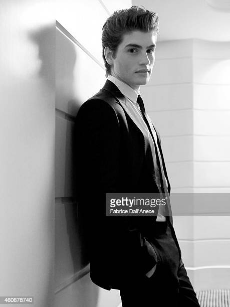 Actor Gregg Sulkin is photographed for Vanity Fair Italy on November 10 2013 in Rome at the Rome Film Festival Italy
