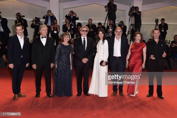 actor Gregoire LeprinceRinguet French actor Gerard Meylan French actress Ariane Ascaride French director Robert Guediguian French actress Anais...