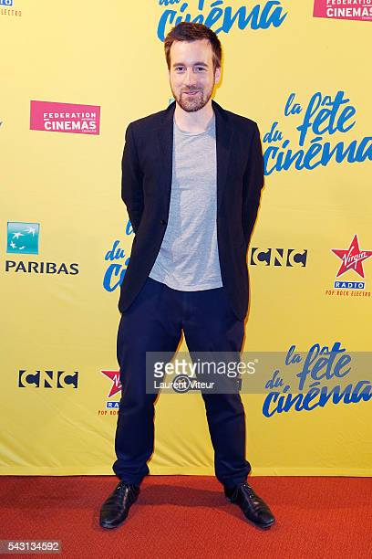Actor GregoireLeprince Ringuet attends the 32nd 'Fete du Cinema' launch at UGC Cine Cite Bercy on June 26 2016 in Paris France