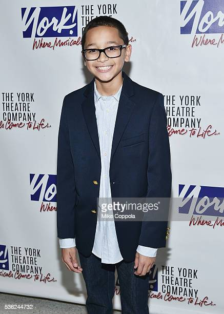 Actor Gregory Diaz attends 'You're A Good Man Charlie Brown' Opening Night After Party at Dylan's Candy Bar on May 31 2016 in New York City
