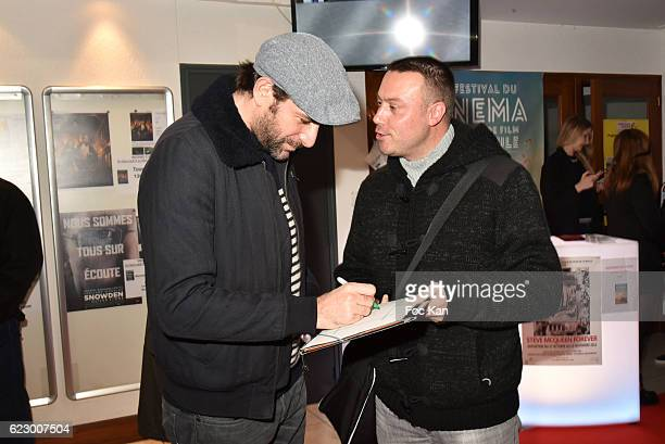 Actor Gregory Fitoussi attends the ÇLa Mecanique De LÕOmbreÊÈ La Baule Premiere at Cinema Gulf Stream as part of 'Cinema Et Musique De Film 2016' 3rd...