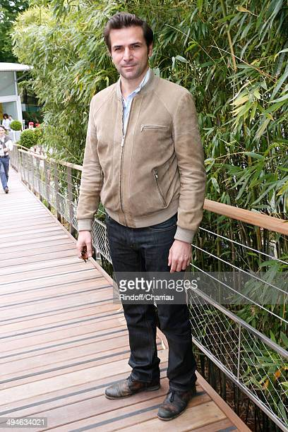Actor Gregory Fitoussi attends the Roland Garros French Tennis Open 2014 Day 6 on May 30 2014 in Paris France