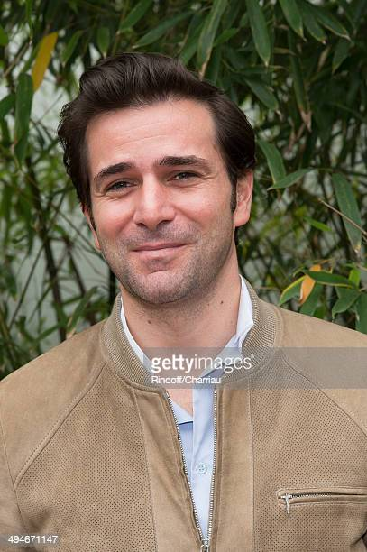 Actor Gregory Fitoussi attends the Roland Garros French Tennis Open 2014 Day 6 at Roland Garros on May 30 2014 in Paris France