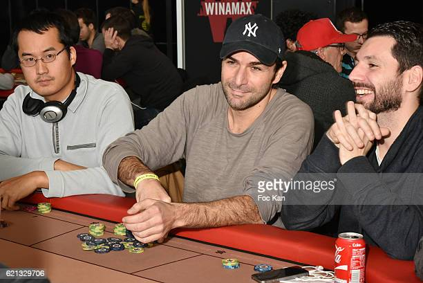 Actor Gregory Fitoussi attends the Winamax Poker Tour 20162017 at Grande Halle de la Villette Day One on November 5 2016 in Paris France