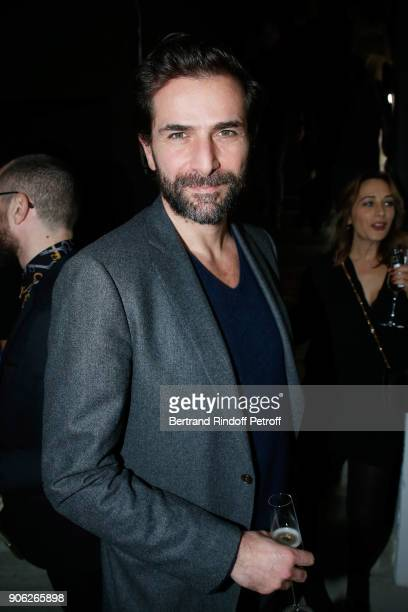 Actor Gregory Fitoussi attends the 'YSL Beauty Hotel' event during Paris Fashion Week Menswear Fall/Winter 20182019 on January 17 2018 in Paris France
