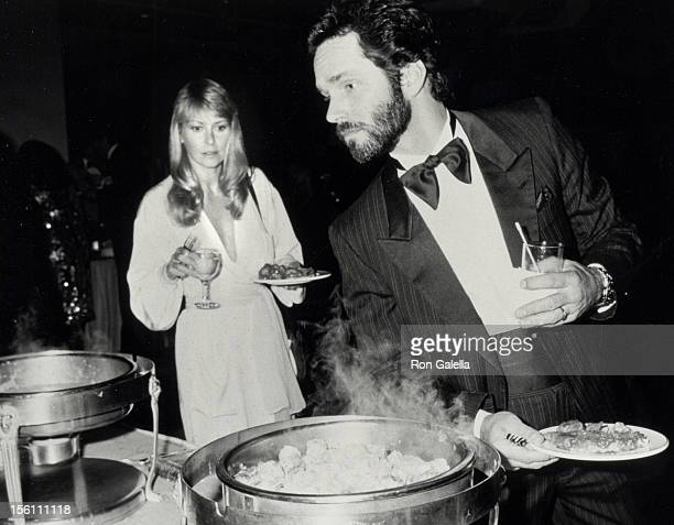 Actor Gregory Harrison and wife Randi Oakes attending 'ABC TV Celebration '85 Gala Party' on May 8 1985 at the New York Hilton Hotel in New York City...
