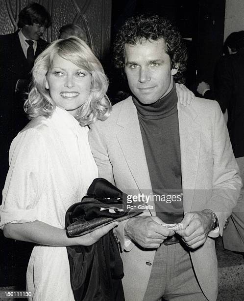 Actor Gregory Harrison and wife Randi Oakes attending 'Surprise Birthday Party for Erik Estrada' on March 7 1981 at Madum Wu Garden Restaurant in...
