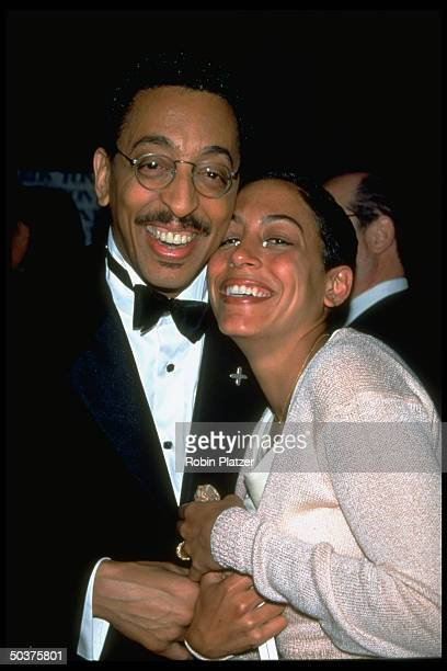 Actor Gregory Hines and daughter Daria at the Tony Awards.