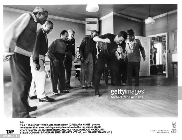 Actor Gregory Hines in a scene from the movie Tap circa 1989
