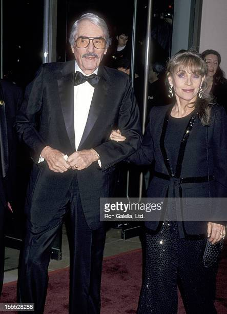 Actor Gregory Peck and wife Veronique Peck attend the 23rd Annual American Film Institute Lifetime Achievement Award Salute to Steven Spielberg on...
