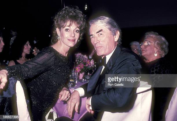 Actor Gregory Peck and wife Veronique Peck attend the Frank and His Friends Valentine's Day Love In II on February 12 1983 at Canyon Hotel in Palm...