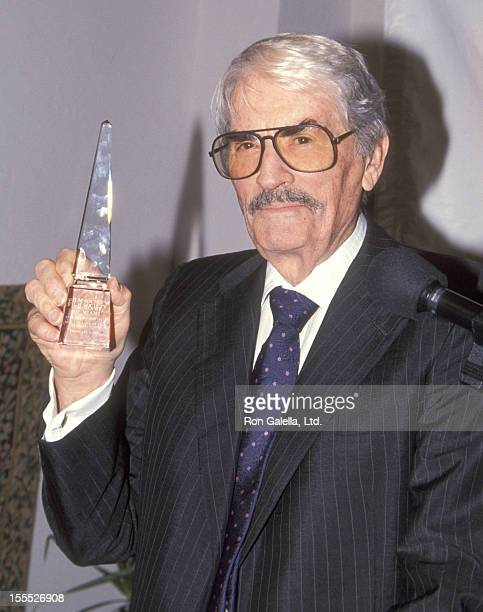 Actor Gregory Peck attends the 12th Annual Miami Film Festival A Tribute to Gregory Peck on February 5 1995 at Williams Island in Adventura Florida