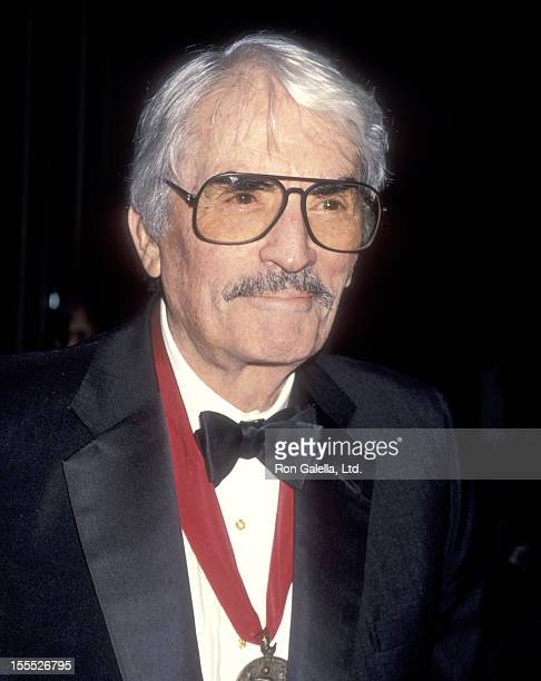 Actor Gregory Peck attends the American Friends of the Hebrew University's Scopus Award Honoring Ted Turner on January 14 1995 at Beverly Hilton...
