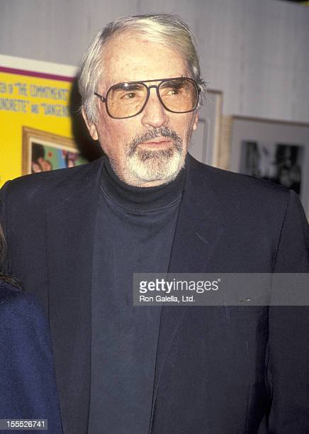 Actor Gregory Peck attends The Snapper West Hollywood Premiere on November 29 1993 at DGA Theatre in West Hollywood California