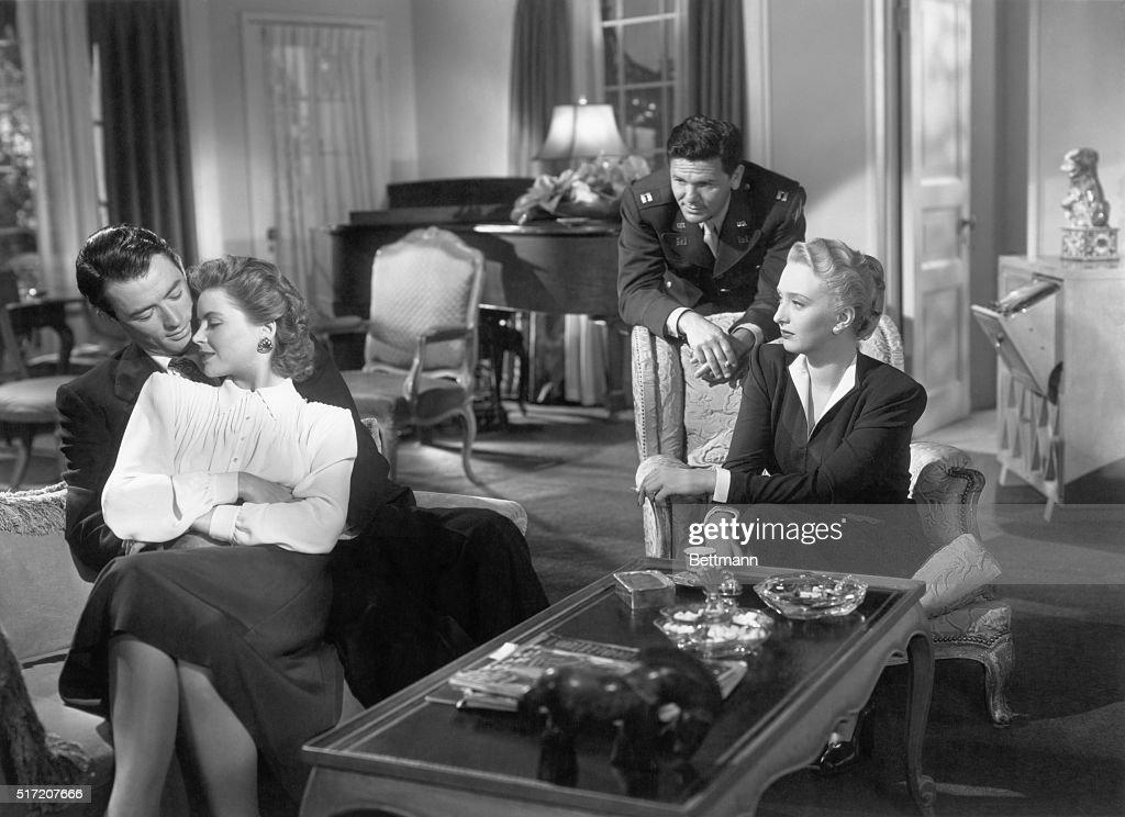 Gregory Peck W/John Garfield In Film : News Photo