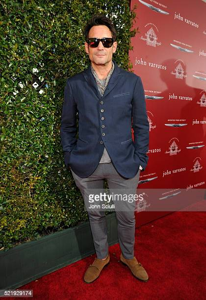Actor Gregory Zarian attends the John Varvatos 13th Annual Stuart House benefit presented by Chrysler with Kids' Tent by Hasbro Studios at John...