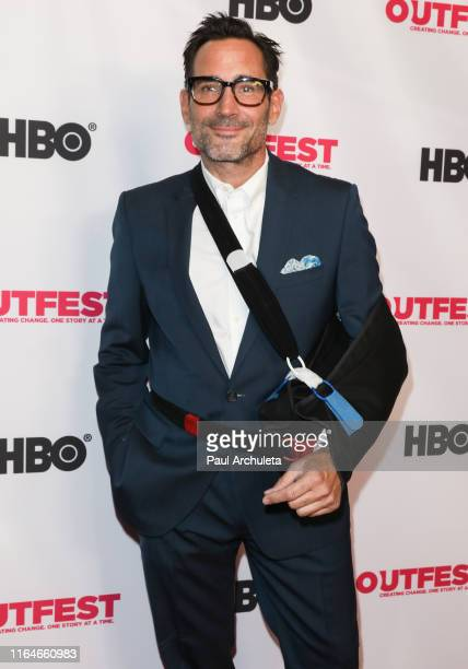 Actor Gregory Zarian attends the screening of From Zero To I Love You at the 2019 Outfest Los Angeles LGBTQ Film Festival at TCL Chinese 6 Theatres...
